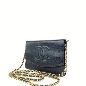 Chanel Bags - Chanel  Black Quilted Caviar Leather Jumbo Flap